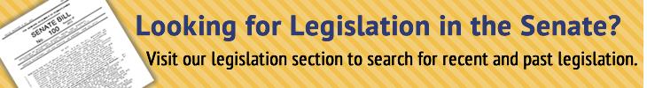 Looking for Legislation in the Senate?